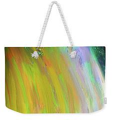 Dream Galaxy Weekender Tote Bag by Karen Nicholson