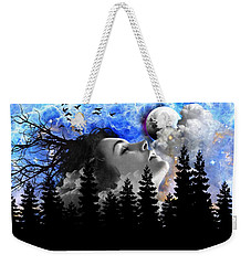 Dream Is The Space To Fly Farther Weekender Tote Bag by Paulo Zerbato