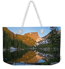 Dream Lake Weekender Tote Bag