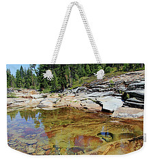 Dream Of A Stream Weekender Tote Bag by Sean Sarsfield