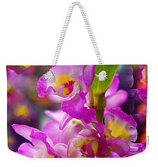 Weekender Tote Bag featuring the photograph Dream Of Spring by Byron Varvarigos