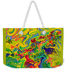 Dream-scaped Swamp Garden 2 Weekender Tote Bag