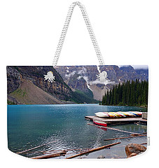 Moraine Lake, Ab  Weekender Tote Bag