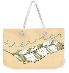 Weekender Tote Bag featuring the digital art Dreamer by Heather Applegate