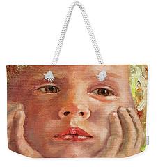 Dreamer Weekender Tote Bag by Janet Garcia