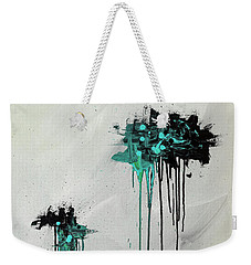 Weekender Tote Bag featuring the painting Dreamers by Carmen Guedez