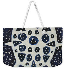 Weekender Tote Bag featuring the painting Dreamflake by Artists With Autism Inc