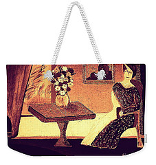 Weekender Tote Bag featuring the painting Dreamin In Lyon By Bill O'connor by Bill OConnor