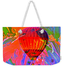 Weekender Tote Bag featuring the photograph Dreaming Across The Sky by Jeff Swan
