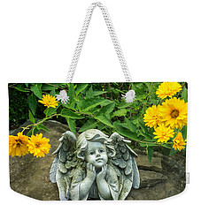 Dreaming Angel Weekender Tote Bag