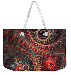 Dreaming Clocksmith Weekender Tote Bag