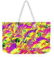 Weekender Tote Bag featuring the photograph Dreaming Ferns by Ludwig Keck