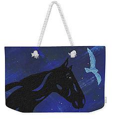 Dreaming Horse Weekender Tote Bag