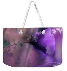 Dreaming In Purple Weekender Tote Bag