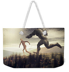 Dreaming Of A Nameless Fear Weekender Tote Bag by John Alexander