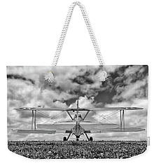 Dreaming Of Flight, In Black And White Weekender Tote Bag