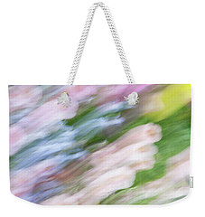 Weekender Tote Bag featuring the photograph Dreaming Of Flowers 1 by Marilyn Hunt