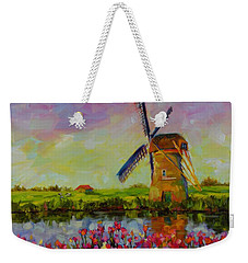 Dreaming Of Holland Weekender Tote Bag