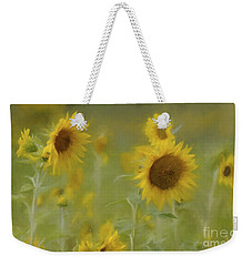 Weekender Tote Bag featuring the photograph Dreaming Of Sunflowers by Benanne Stiens