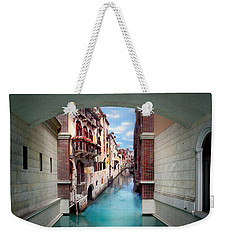 Dreaming Of Venice Weekender Tote Bag by Az Jackson