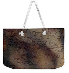 Dreaming Of Words Weekender Tote Bag
