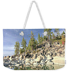 Weekender Tote Bag featuring the photograph Dreaming Pond by Sean Sarsfield