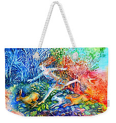 Dreaming With Hares Weekender Tote Bag