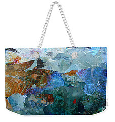 Weekender Tote Bag featuring the painting Dreamland by Mary Sullivan