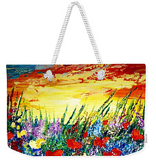 Dreamland Weekender Tote Bag by Teresa Wegrzyn