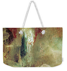 Dreams Come True - Earth Tone Art - Contemporary Pastel Color Abstract Painting Weekender Tote Bag