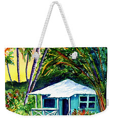 Weekender Tote Bag featuring the painting Dreams Of Kauai 2 by Marionette Taboniar