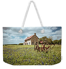 Weekender Tote Bag featuring the photograph Dreams Of Long Ago by Linda Unger