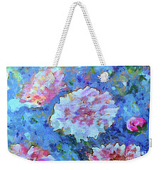 Weekender Tote Bag featuring the painting Dreams Of Love by Claire Bull