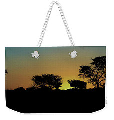 Dreams Of Namibian Sunsets Weekender Tote Bag by Ernie Echols
