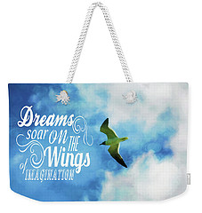 Dreams On Wings Weekender Tote Bag