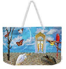 Dreamscape Three Weekender Tote Bag by Ken Frischkorn