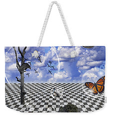 Dreamscape Two Weekender Tote Bag by Ken Frischkorn