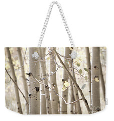 Dreamy Aspen Woodland Weekender Tote Bag by Andrea Hazel Ihlefeld