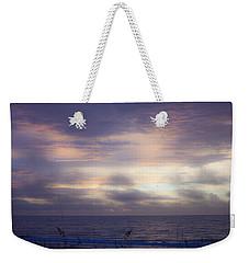 Dreamy Blue Atlantic Sunrise Weekender Tote Bag
