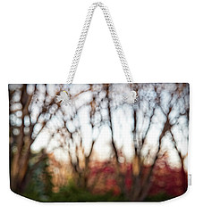 Weekender Tote Bag featuring the photograph Dreamy Fall Colors by Susan Stone