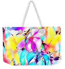 Dreamy Flower Weekender Tote Bag