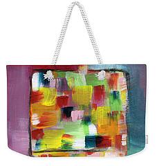 Dreidel Of Many Colors- Art By Linda Woods Weekender Tote Bag