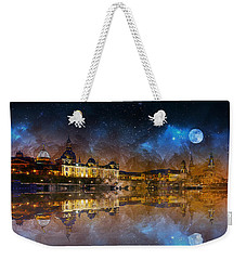 Dresden At Night Weekender Tote Bag