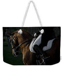 Dressage Weekender Tote Bag by Wes and Dotty Weber