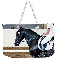 Dressage Horse Show Weekender Tote Bag
