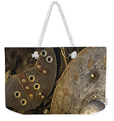 Dressed For Battle Weekender Tote Bag by Wes and Dotty Weber