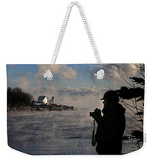 Dressed For Sea Smoke Weekender Tote Bag