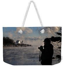 Dressed For Sea Smoke Weekender Tote Bag