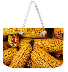 Dried Corn Cobs Weekender Tote Bag