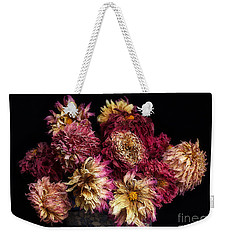 Dried Dahlias From The Garden Weekender Tote Bag